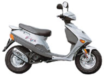 Adly Fox 50 2001 50 CC Complete Exhaust Sports