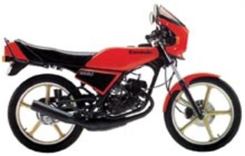 KAWASAKI AR 80