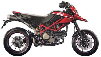 DUCATI HYPERMOTARD 1100 EVO/SP
