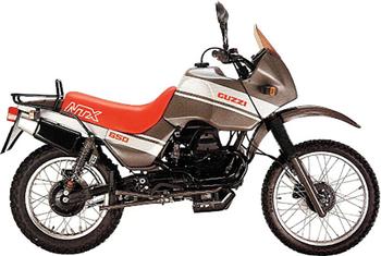 MOTO GUZZI V650 NTX