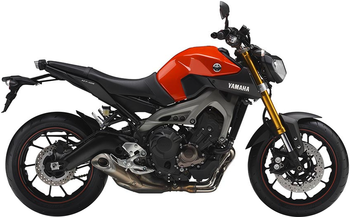 YAMAHA MT-09 ABS/STREET RALLY/SPORT TRACKER