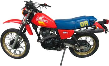 SUZUKI DR 500 S