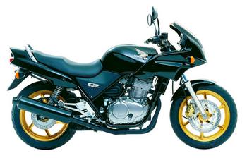 Jeu 2 plaquettes frein Avant de qualité HONDA CB 500 S//N PC32 1999-2003