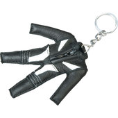 KEY-RING *LEATHER SUIT* APPROX. 8,5 X 8,5 CM