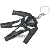 KEY-RING *LEATHER SUIT*