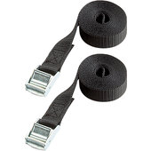 Set Of 2 Tie-Down Straps, Cam Buckles