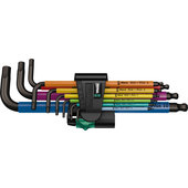 Wera L-Keys 9-Piece, Multicolour, Metric