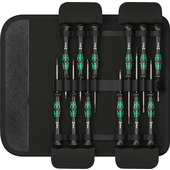 WERA KRAFTFORM MICRO-SET SCREWDRIVER SET, 12PC