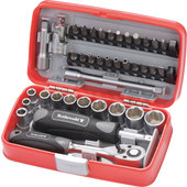 ROTHEWALD SOCKET WRENCH SET, 38-PIECE