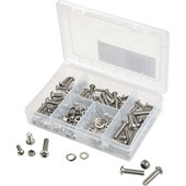 BUTTON-HEAD STAR BOLT ASSORTMENT, 132-PIECE