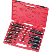 SCREWDRIVER SET ROTHEWALD, 10-PIECE