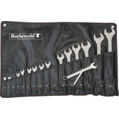 MOTORBIKE WRENCH SET 16-PC., OPEN/BOX END