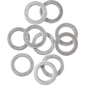 ALUMINIUM SEALS 10.0 MM, 10 OR 20 PCS.