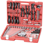 Rothewald Industrial Tool Set 122-Piece, metric