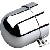 CHROME OIL FILTER COVER UNIVERS. F.65-68MM FILTER