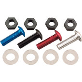 SCREW SET M5 FOR WINDSHIELDS, 8PCS.