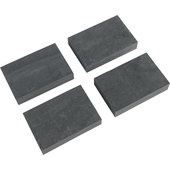 Kern-Stabi Rubber Blocks Set Of 4, For 10007785