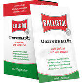 Box of Ballistol universal oil cloths