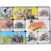 MOTOmania Magnet-Set, Set 9 Pieces