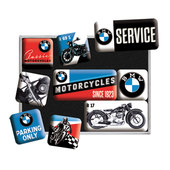 LOT DE 9 AIMANTS BMW