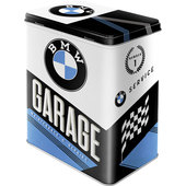 VORRATSDOSE *BMW GARAGE* GROSS, HXBXT: 20X14X10CM