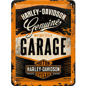 METAL SIGN *H-D GARAGE*