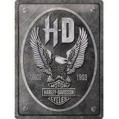 Metal Sign Harley-Davidson Eagle