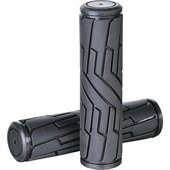 RUBBER GRIPS UNIVERSAL BLACK, PAIR