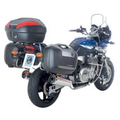 H+B JOURNEY RECON 52L TOP BOX, BLACK/ANTHR.