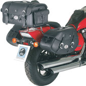 H+B SADDLEBAGS BUFFALO FOR C-BOW FITTING