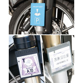 FixItEasy 3-In-1 Holder For Motorway Riding And Parking