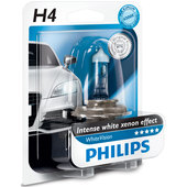 PHILIPS WHITEVISION H4 HALOGEN-LAMPE 60/55W