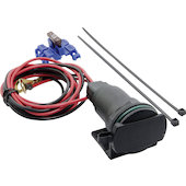 12V vehicle euro socket with 130cm cable