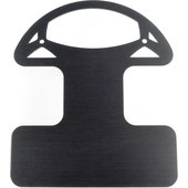 ALUMINIUM BRACKET, BLACK