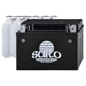 Saito AGM battery with acid-pack
