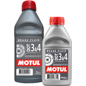 Brake Fluid DOT 3 & 4, fully synthetic