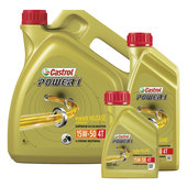CASTROL MOTOR OIL 15W-50 POWER1 4T, HC-SYNTHETIC