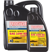 Procycle Engine Oil 10W-40 Semi-Synthetic, 4T
