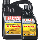 Procycle 4T Engine Oil Semi-Synthetic, SAE 10W-30
