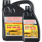PROCYCLE MOTOR OIL HC-SYNTHETIC, SAE 5W-40