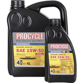 Procycle 4T Engine Oil Semi Synthetic, SAE 15W-50