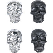 DECORATIVE SKULL BOLTS M6 X 20MM, PAIR