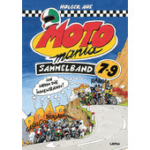MOTOMANIA COMICS BAND 7-9