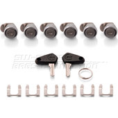 Cylinder Lock Sets Trax EVO Aluminium-Cases