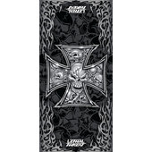 LETHAL THREAT MULTITUCH IRON-CROSS-SKULL,SCHWARZ