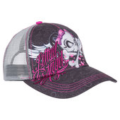 LETHAL ANGEL CAP GIRL SKULL