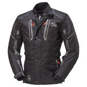 FASTWAY SEASON TEXTILJACKET, BLACK/GREY
