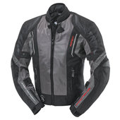 FASTWAY HOT SEASON TEXTILE JACKET,BLACK/GREY