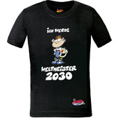 MOTOMANIA KIDS T-SHIRT, NOIR
