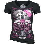 LETHAL ANGEL LADIES SHIRT RATTLE N ROLL